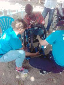 Wheelchair distribution